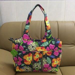 Vera Bradley Laptop Carryall Jazzy Blooms